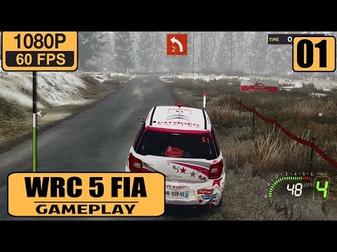 WRC 5 FIA World Rally Championship Gameplay Walkthrough Part 1 - Rallye Monte Carlo 2015