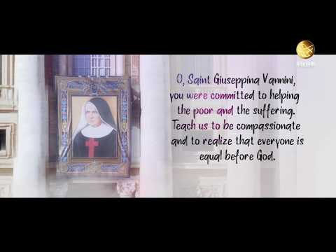 Saint Giuseppina Vannini  | Prayer