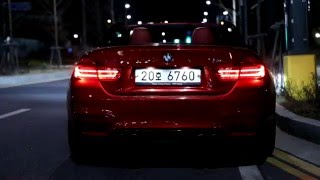 BMW M4 Convertible Sound :: 배기음