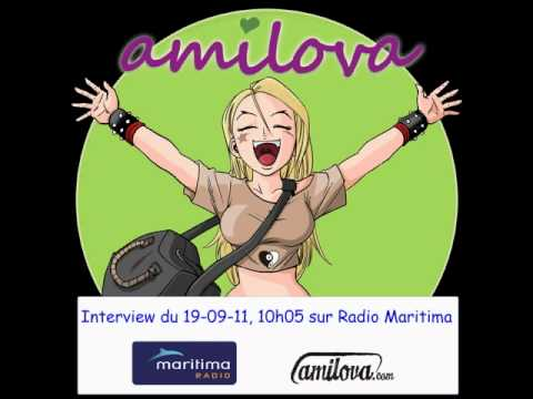 Interview Amilova - Troy sur Radio Maritima