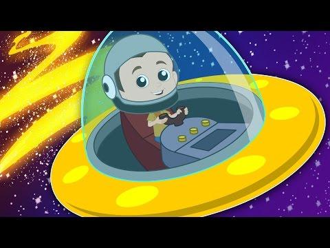 Space Race | Original Song Nursery Rhymes | Planets Songs | Baby Rhymes | kids tv