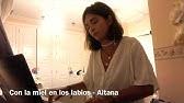 Con La Miel En Los Labios Aitana Piano Cover Partitura Youtube