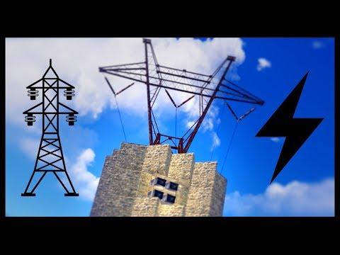 RAIDING a UNIQUE POWER LINE BASE | SOLO VANILLA