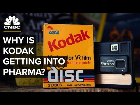 Why Is Kodak Making Pharmaceuticals?