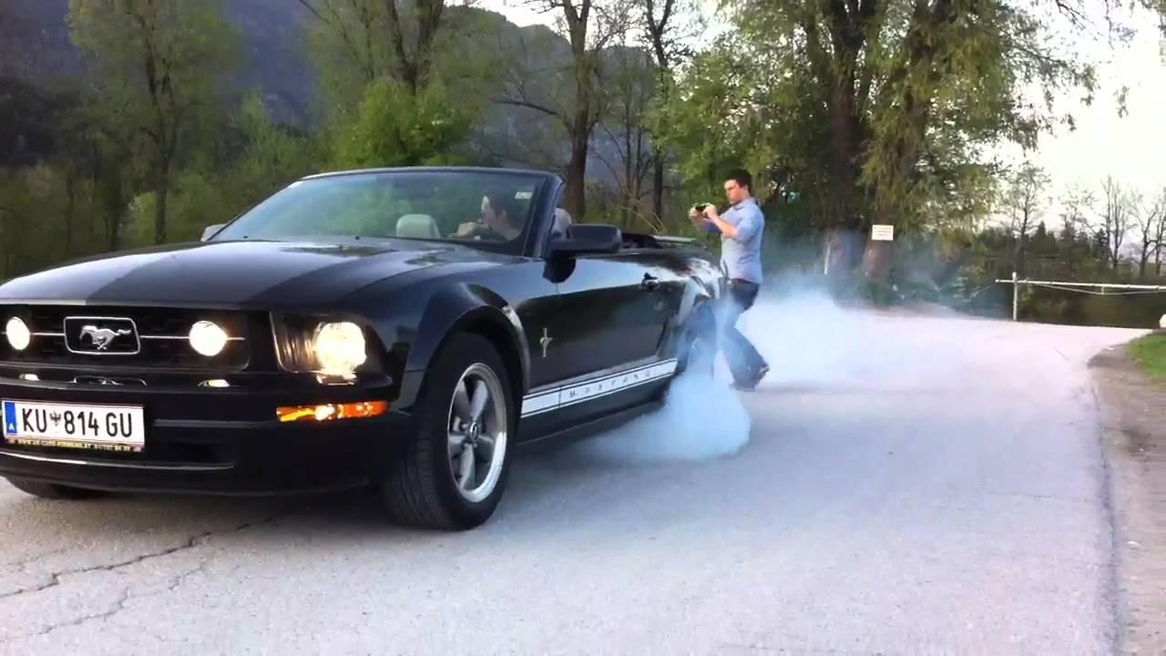 Ford mustang 4 0 v6 burnout