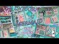 MAGICAL MERMAID & UNICORN HAPPY MAIL SWAP SHARE!!! DOODLEBUG FLIPBOOK