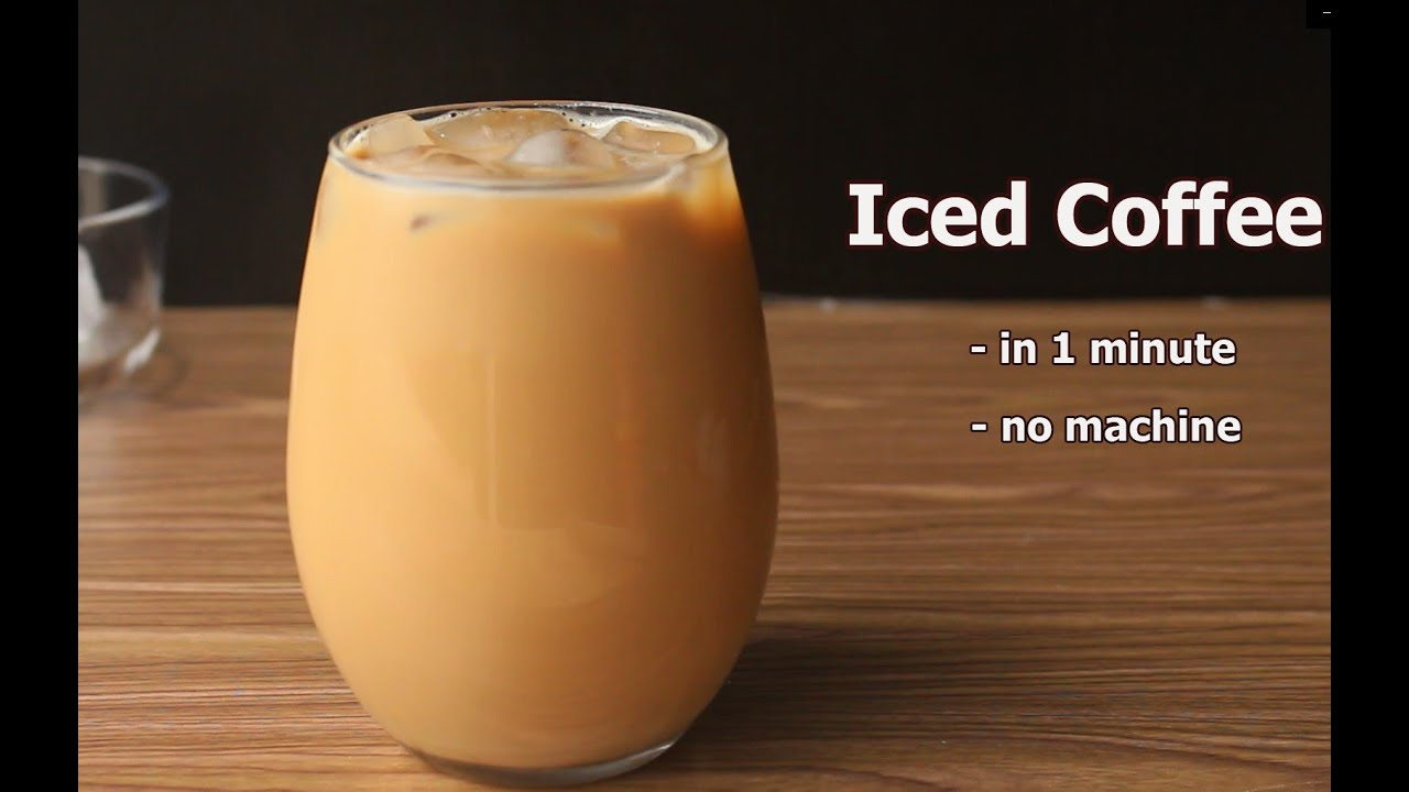 Download Iced Coffee | How to Make Iced Coffee | Quick and Easy Iced Coffee Without a Blender