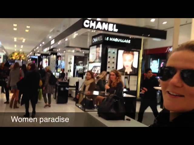 Diva shoppen @ Bijenkorf Amsterdam