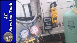 R-22 Refrigerant Charging an Older System with a Capillary Tube Metering Device & Confirming Charge!