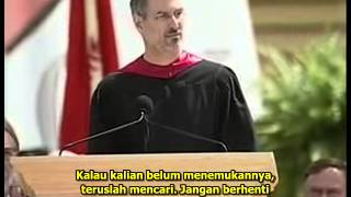 Video Steve Jobs Stanford Commencement Speech 2005 with Indonesian Subtitle download MP3, 3GP, MP4, WEBM, AVI, FLV September 2017