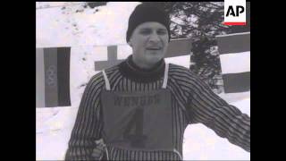 LAUBERHORN SKI RACE - MEN SLALOM  - NO SOUND