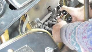 How 2 start D-160 diesel of T-170 dozer tractor
