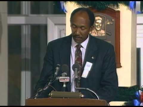 Ferguson Jenkins 1991 Hall of Fame Induction Speech