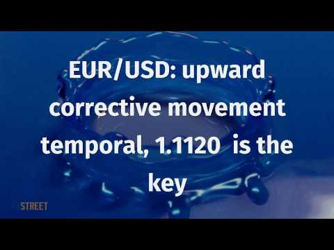 EUR/USD: upward corrective movement temporal, 1.1120  is the key