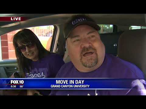 Cory's Corner: Move-in day at Grand Canyon University