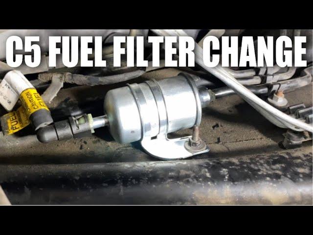 [SCHEMATICS_48DE]  C5 Fuel Filter Change - YouTube   2001 Corvette Fuel Filter      YouTube