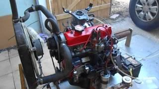 premiers essais moteur super5 apres refection