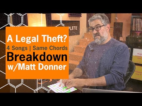 Breakdown - A Legal Theft | 4 Songs with the same Chords | DJ Mash up