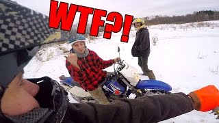 BLEW UP NEW 450 DIRT BIKE?!