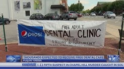 800+ expected to receive free dental care at Fuquay-Varina clinic