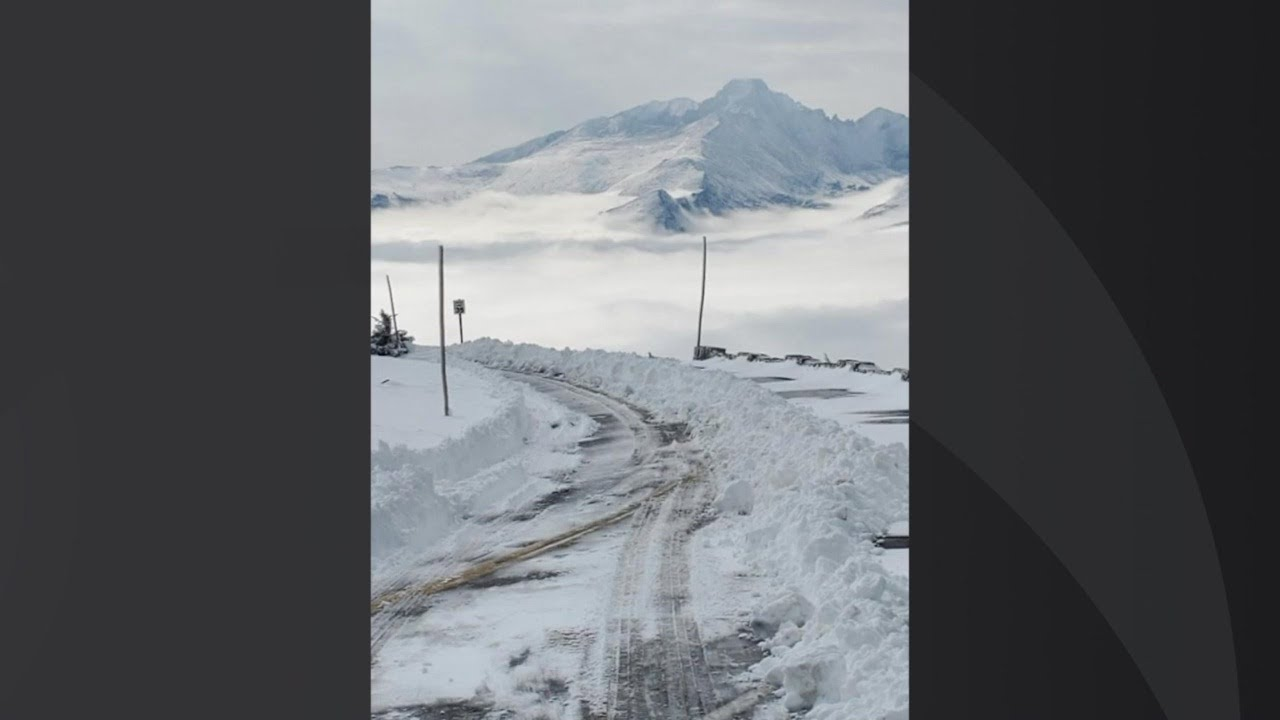 Trail Ridge Road Closed Due To 5-6' Snow Drifts