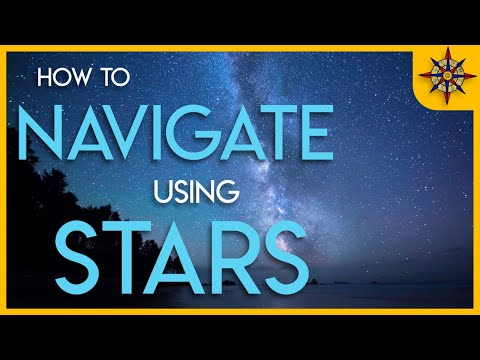 How To Navigate Using the Stars