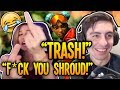 Gambar cover Shroud TEACHES Female Streamer A LESSON! CRAZY RAGE - Apex Legends Funny Fails & Best Moments! #19