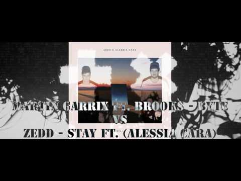 Martin Garrix ft. Brooks - Byte vs Zedd - Stay ft. (Alessia Cara) [ LEWCON MASHUP ]
