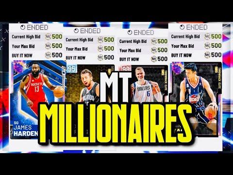 MT MILLIONAIRES: TOP 5 BEST MARKET CRASH SNIPE FILTERS ON NBA 2K19 RIGHT  NOW (Episode 36)