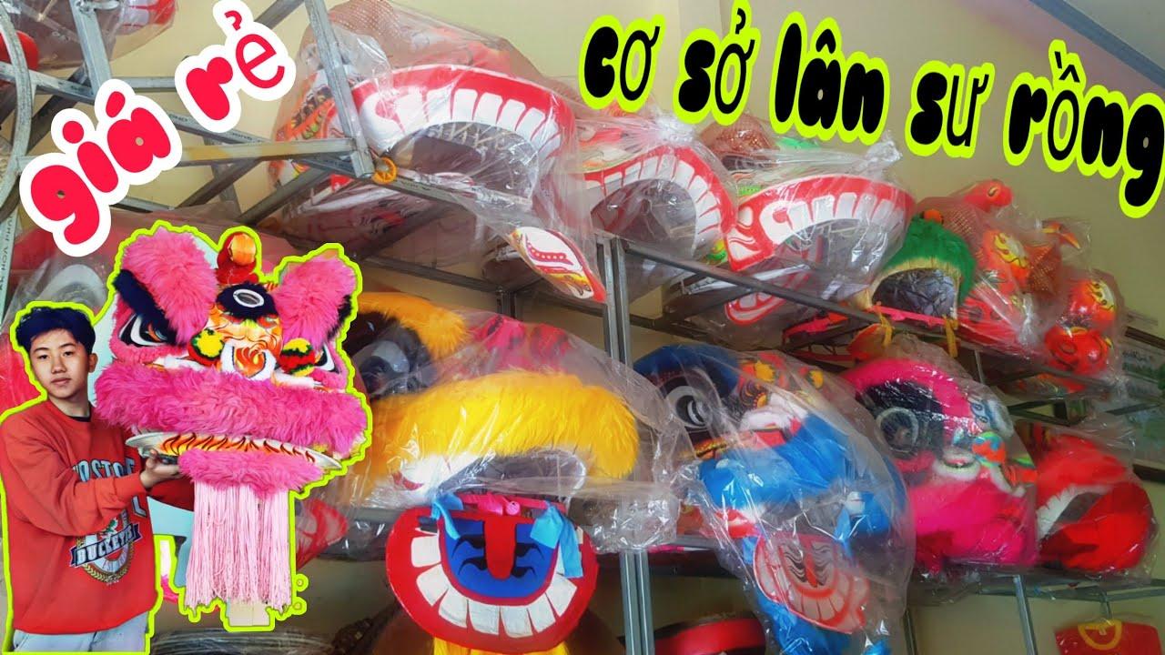 KN – Cơ Sở Bán Trống Đầu Lân Hạt Sơn , Lân Phật Sơn Giá Rẻ Ở Chổ Nguyên NTN | Lion Dance