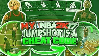 MY 2K17 JUMPSHOT IS A CHEAT CODE 😱 I'VE NEVER GOTTEN SO MANY GREENS ON NBA 2K18