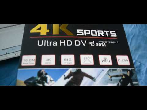Review Action Came 4k Sport HD DV