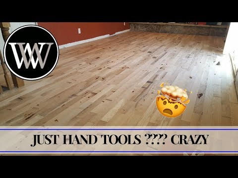 How To Install Solid Hardwood Flooring With Hand Tools - White Oak Floors Woodworking The Hard Way