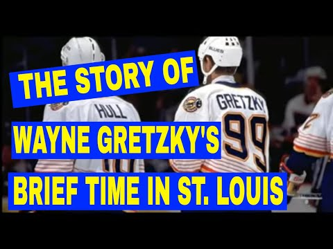 Since the allstar game was in St. Louis. Here's a short video telling the story of Wayne Gretzky's short stint playing for the Blues
