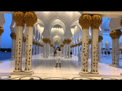 SHEIKH ZAYED GRAND MOSQUE ABU DHABI 2014