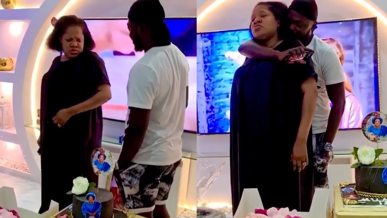 Download KOLAWOLE AJEYEMI THROW UP A SURPRISE BIRTHDAY PARTY FOR TOYIN ABRAHAM ON HER 40TH BIRTHDAY