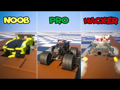 Lego NOOB vs PRO vs HACKER | Brick Rigs