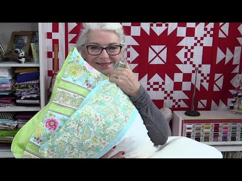 Pretty Pillow Case with a Flap to hid the Pillow