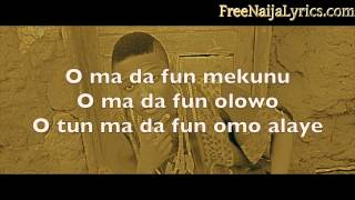 Lyrics: Wizkid - Eledumare | FreeNaijaLyrics.com