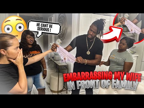 Download Embarrassing My Wife In Front Of My FAMILY *NEVER AGAIN*