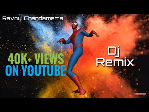 Ravoyi Chandamama |  The Animated Special Series | Remix By | Dj Shiva Mixing Unit