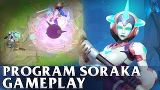 Program Soraka Gameplay - WILD RIFT