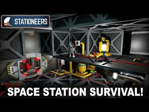 Advanced Space Station Survival Game! (Stationeers #01)