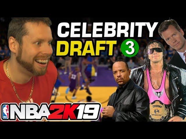 NBA 2K19 Celebrity Draft 3 + video