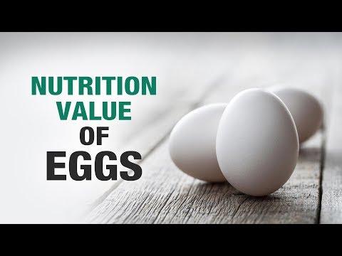 Nutrition Value Of Eggs - Dr. Asha Bachanni - Diet Talk