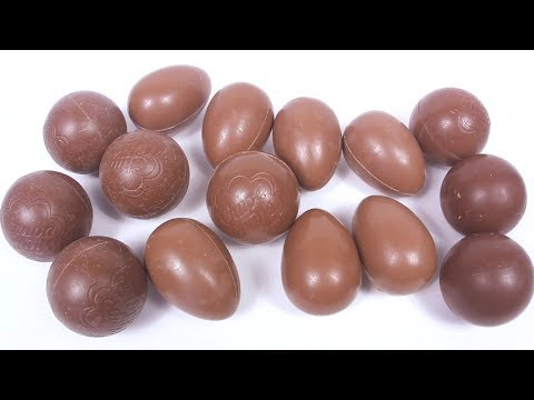 ШОКОЛАДНЫЕ ЯЙЦА БЕЗ ФОЛЬГИ Mystery Chocolate Surprise Eggs Kinder Surprise TOYS Unboxing