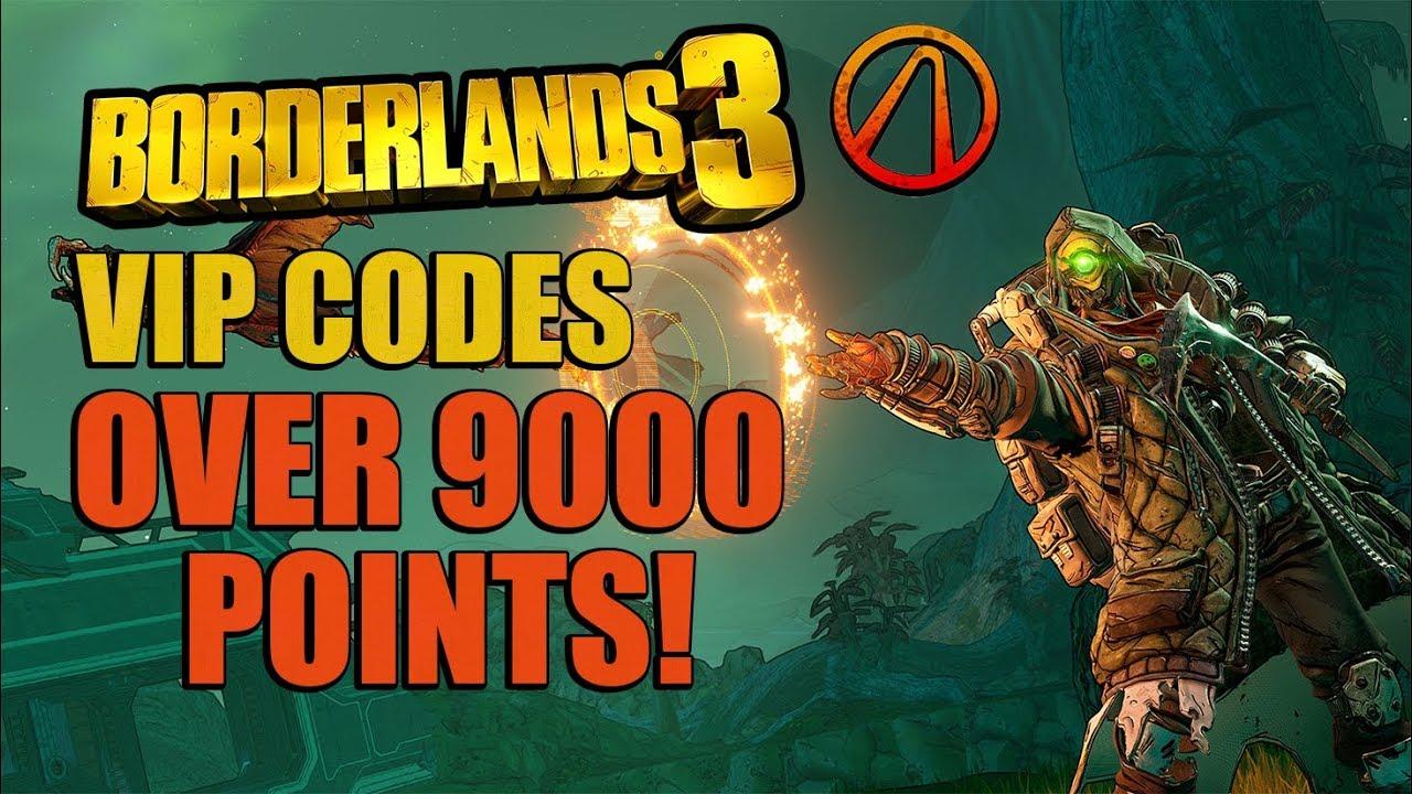 Borderlands Vip Codes