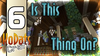 KoDatsCraft Episode 6 - Is This Thing On? - Vanilla Minecraft