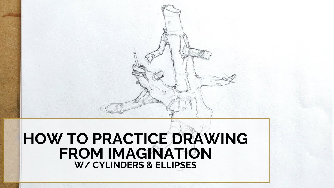 How To Practice Drawing From Imagination Part 2