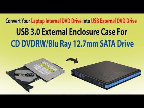 How To Convert  Laptop Internal DVD Drive Into USB External DVD Drive